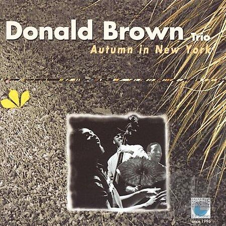 DONALD BROWN - Autumn In New York cover
