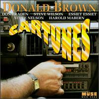 DONALD BROWN - Cartunes cover