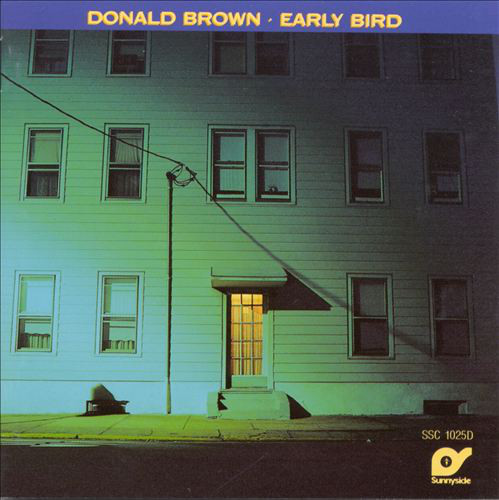 DONALD BROWN - Early Bird cover