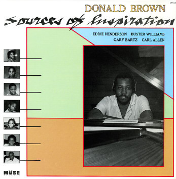DONALD BROWN - Sources Of Inspiration cover