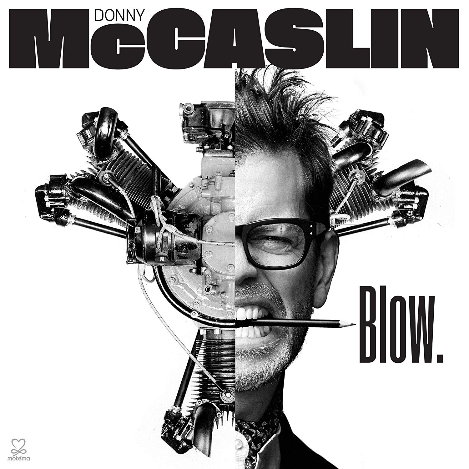 DONNY MCCASLIN - Blow. cover