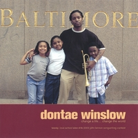 DONTAE WINSLOW - Change A Life Change The World cover