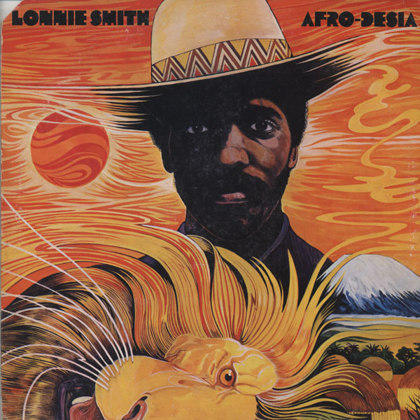 DR LONNIE SMITH - Afro-Desia cover
