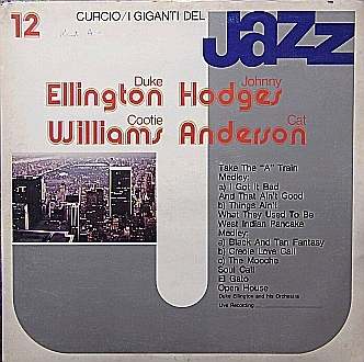 DUKE ELLINGTON Duke Ellington / Johnny Hodges / Cootie ...