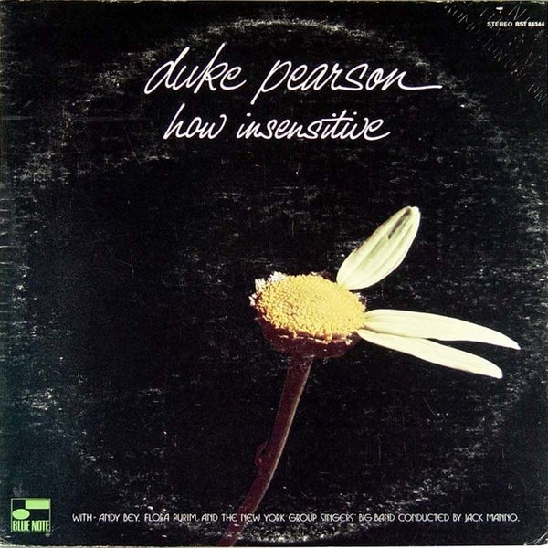 DUKE PEARSON - How Insensitive cover