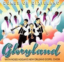 DUKES OF DIXIELAND (1975) - Gloryland cover