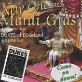 DUKES OF DIXIELAND (1975) - New Orleans Mardi Gras (With Luther Kent) cover