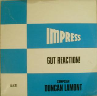 DUNCAN LAMONT - Gut Reaction! cover