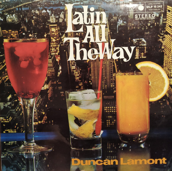 DUNCAN LAMONT - Latin all the way cover