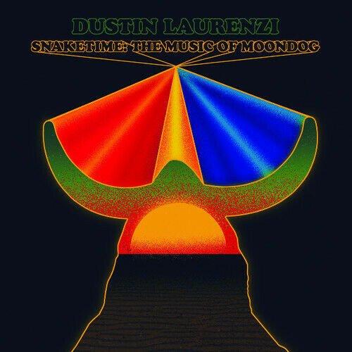 DUSTIN LAURENZI - Snaketime : Music of Moondog cover