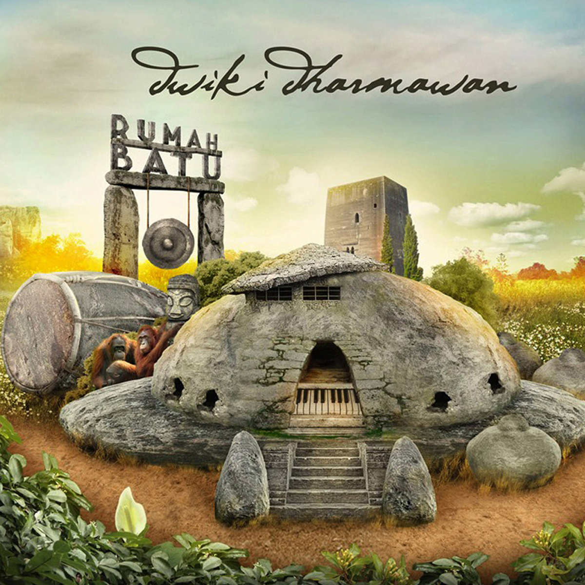 DWIKI DHARMAWAN - Rumah Batu cover