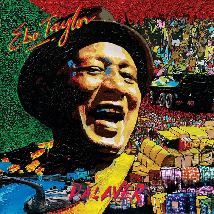 EBO TAYLOR - Palaver cover
