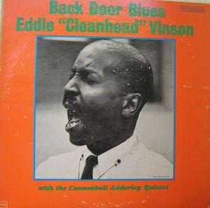 EDDIE 'CLEANHEAD' VINSON - Back Door Blues cover