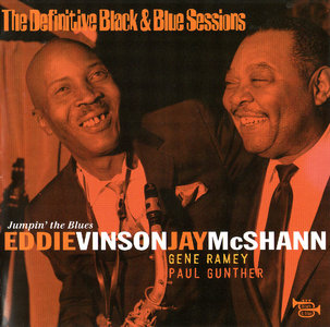 EDDIE 'CLEANHEAD' VINSON - Eddie 'Cleanhead' Vinson and Jay McShann : Jumpin' the Blues cover