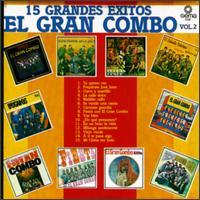 EL GRAN COMBO DE PUERTO RICO - 15 grandes exitos,vol.2 cover