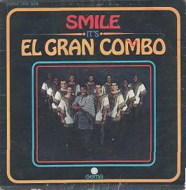 EL GRAN COMBO DE PUERTO RICO - Smile It's El Gran Combo cover