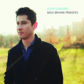 ELDAR DJANGIROV - Bach / Brahms / Prokofiev cover