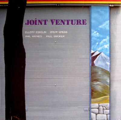 ELLERY ESKELIN - Ellery Eskelin, Drew Gress, Phil Haynes, Paul Smoker :  Joint Venture cover