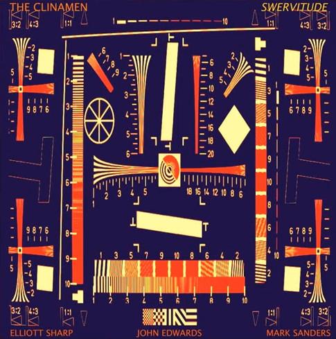 ELLIOTT SHARP - The Clinamen (Elliott Sharp, Mark Sanders, John Edwards) : Swervitude cover
