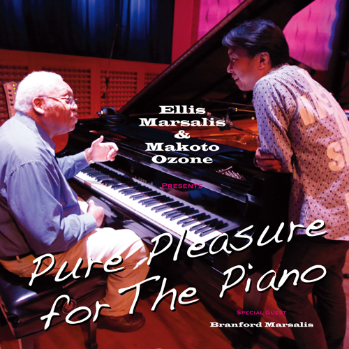 ELLIS MARSALIS - Ellis Marsalis &  Makoto Ozone : Pure Pleasure For The Piano cover
