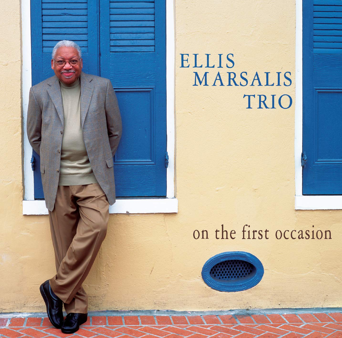 ELLIS MARSALIS - On the First Occasion cover