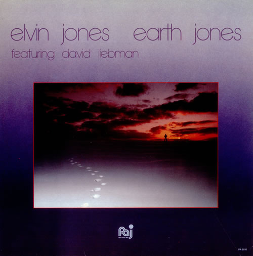 ELVIN JONES - Earth Jones cover