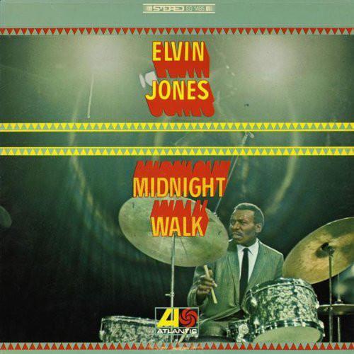 ELVIN JONES - Midnight Walk cover