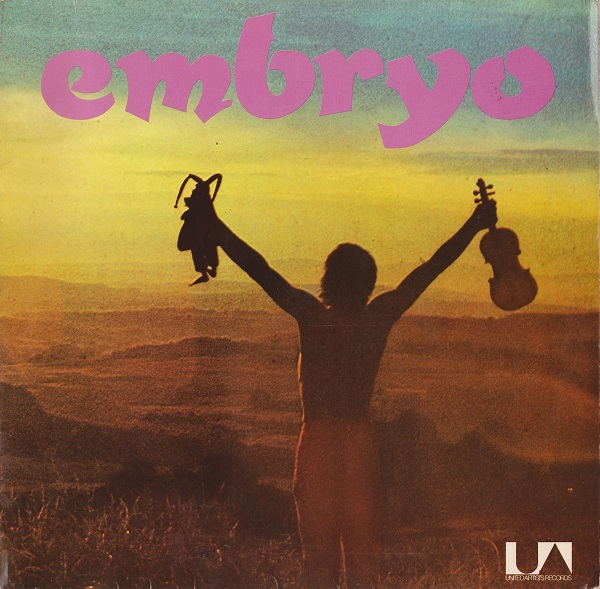 EMBRYO - Rache cover