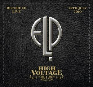 EMERSON LAKE AND PALMER - High Voltage Festival cover