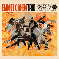 EMMET COHEN - Emmet Cohen Trio : Dirty In Detroit cover