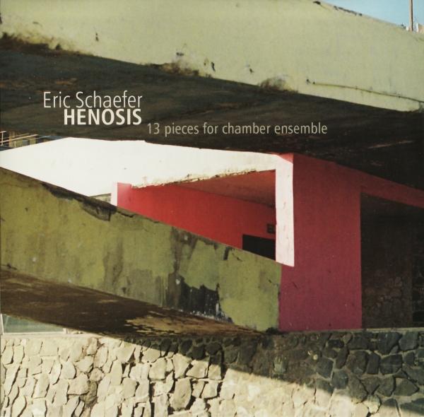 ERIC SCHAEFER - Henosis cover