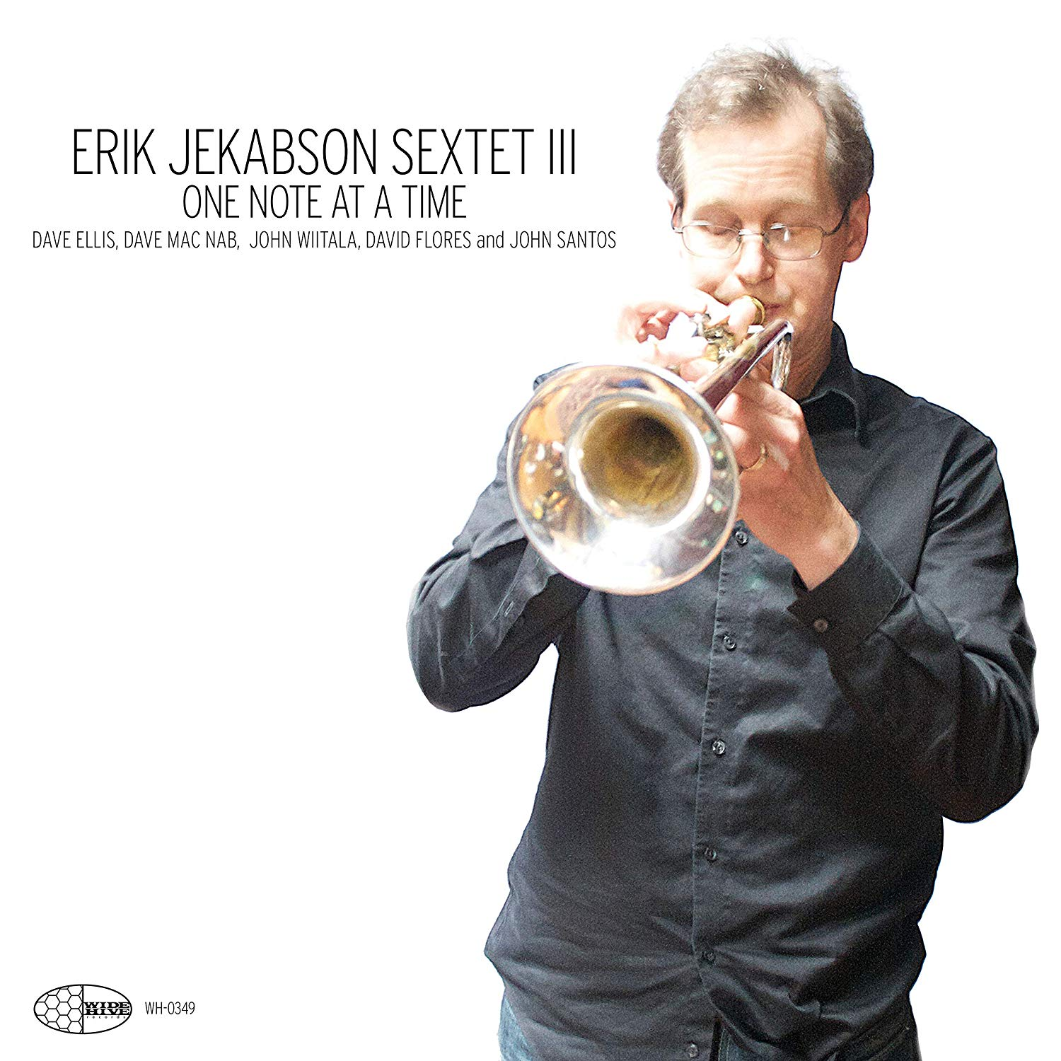 ERIK JEKABSON - One Note At A Time cover