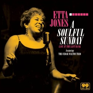 ETTA JONES - A Soulful Sunday : Live at the Left Bank cover