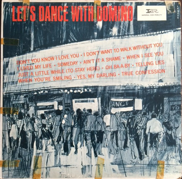 FATS DOMINO - Let's Dance With Domino cover