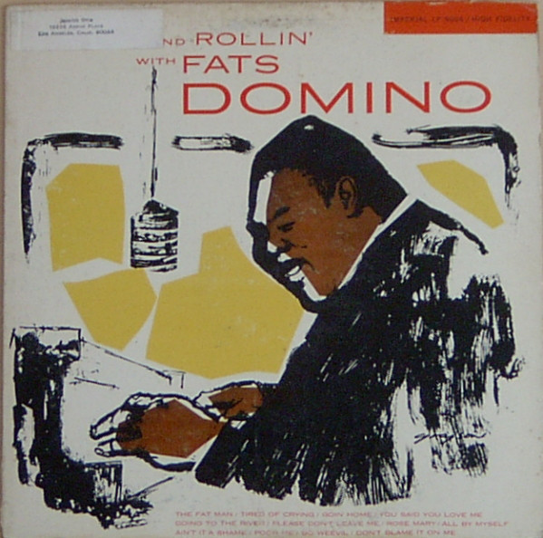 FATS DOMINO - Rock And Rollin' With Fats Domino (aka Carry On Rockin') cover
