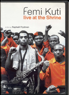 FEMI KUTI - Live At The Shrine cover