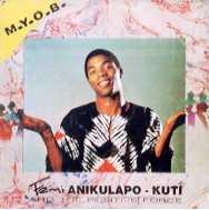 FEMI KUTI - M.Y.O.B. cover