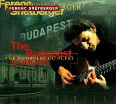 FERENC SNÉTBERGER - The Budapest Concert cover