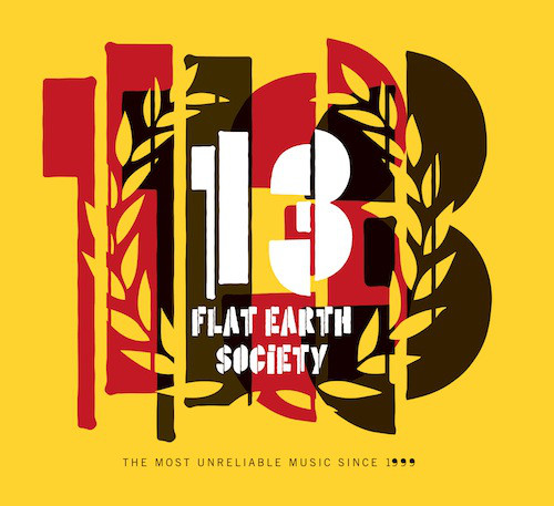 FLAT EARTH SOCIETY - 13 cover