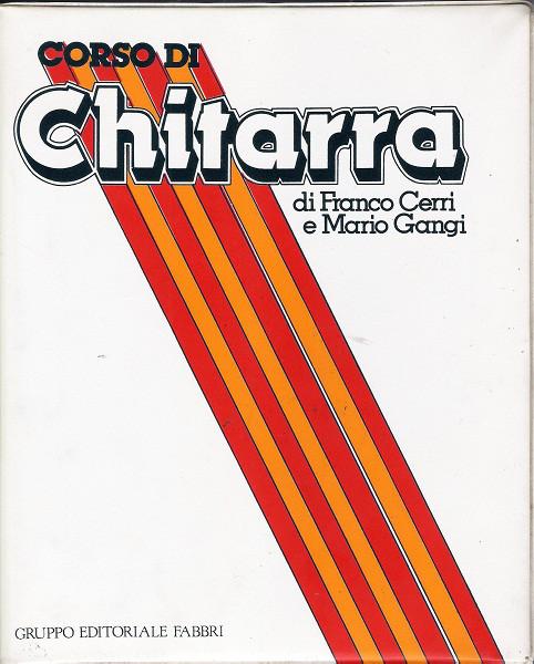 FRANCO CERRI - Franco Cerri E Mario Gangi : Corso Di Chitarra cover