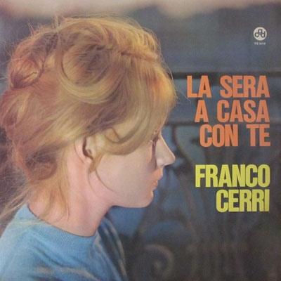 FRANCO CERRI - La sera a casa con te cover