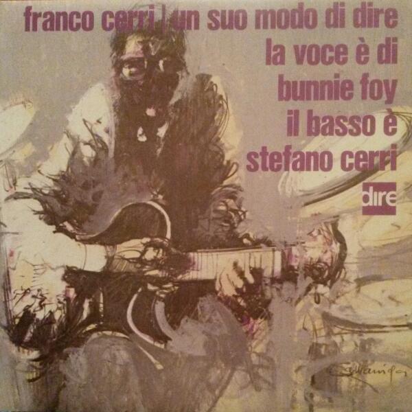FRANCO CERRI - Un suo modo di dire cover