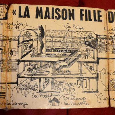 FRANÇOIS TUSQUES - La Maison Fille Du Soleil cover