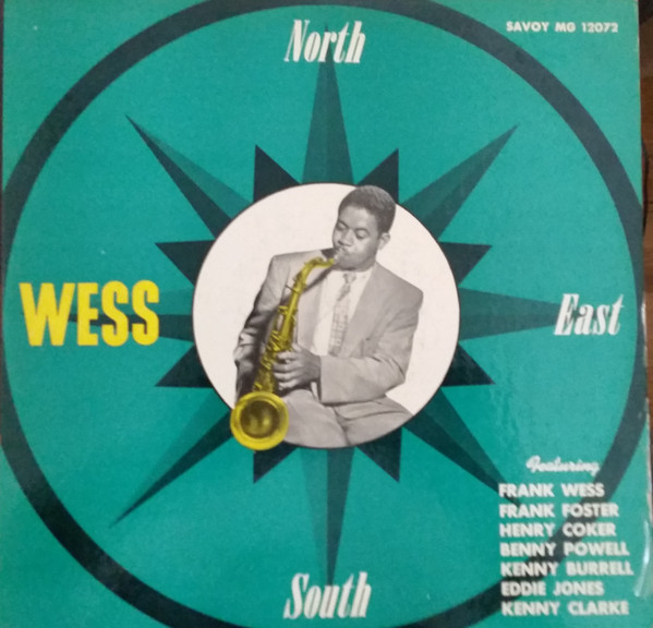 FRANK FOSTER - North, South, East.....Wess cover