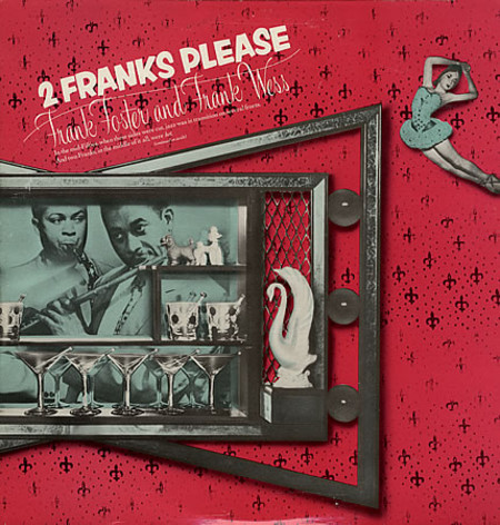 FRANK FOSTER - Frank Foster And Frank Wess ‎: 2 Franks Please cover