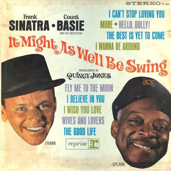 FRANK SINATRA - It Might As Well Be Swing cover
