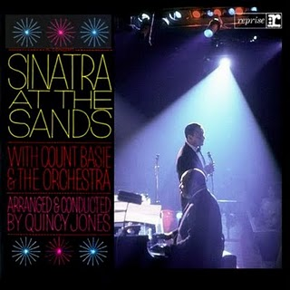 FRANK SINATRA - Sinatra at the Sands cover