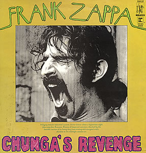 FRANK ZAPPA - Chunga's Revenge cover