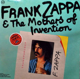 FRANK ZAPPA - Frank Zappa and The Mothers of Invention (Verve) cover