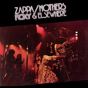 FRANK ZAPPA - Roxy & Elsewhere (as Zappa/Mothers) cover